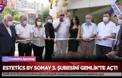Estetics by Somay 3.Şubesini Gemlik'te Açtı
