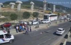 GemlikLife Haber - Bursa Ovaakça mevkiinde kaza görüntüleri