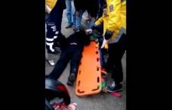 Yeni Sahil Girişinde Trafik Kazası